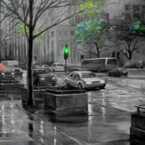город.дождь