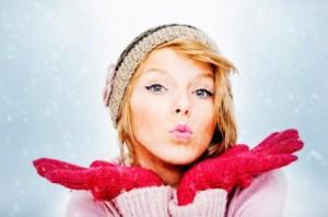 зимний макияж 1